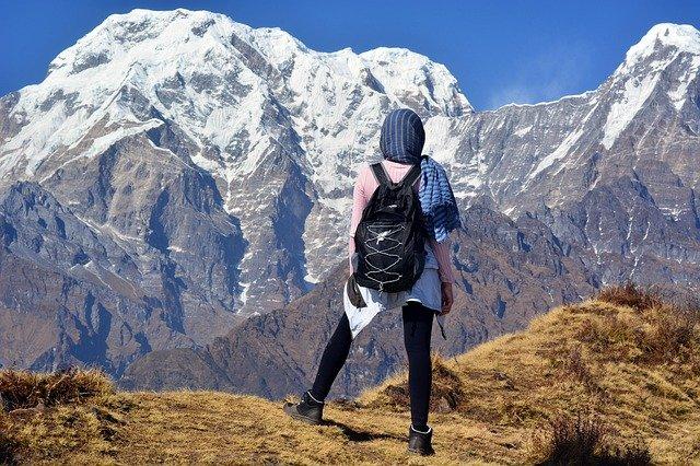 veste softshell à la montagne