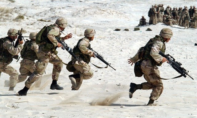 veste softshell militaire